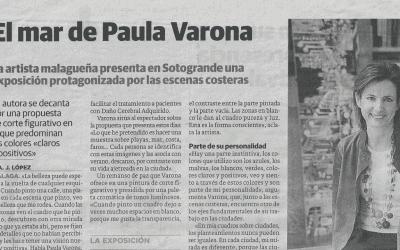 El Mar de Paula Varona. Diario Sur