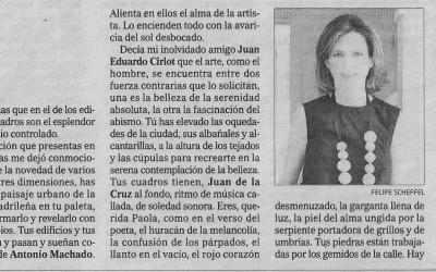 Música callada, Soledad sonora. Luis María Ansón. El Mundo